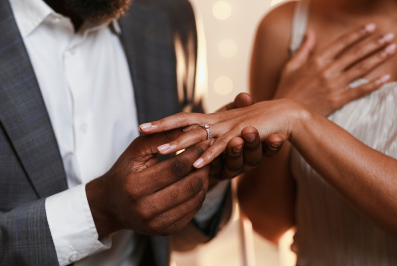 Proprietary rights in black marriages