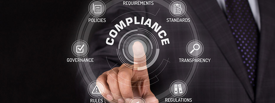Checks and balances to avoid non-compliance
