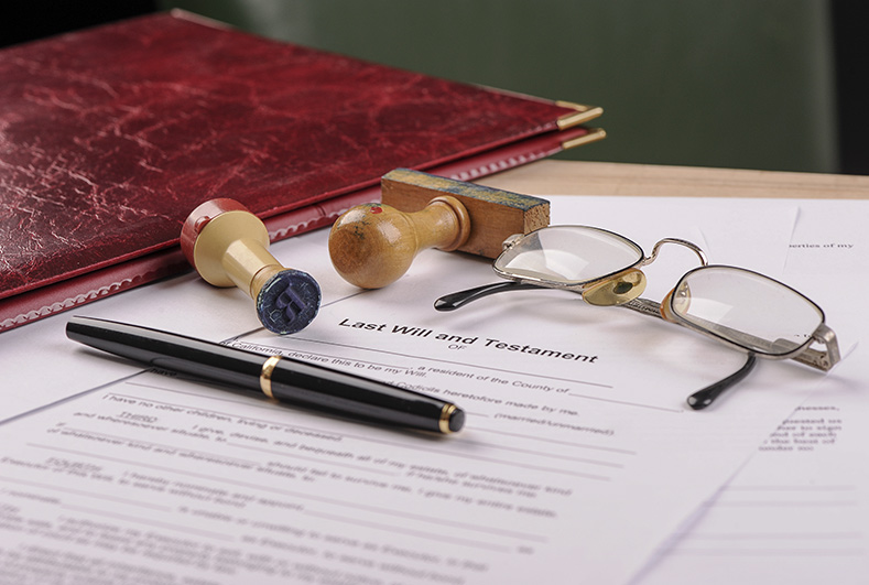 Invalidity and failure of a will
